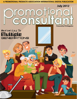 Promotional Consultant Digital – July 2012