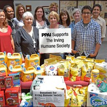 PPAI Staff Support The Irving Humane Society