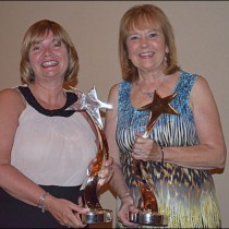 Lantz, Sandford Honored With The PPAI Woman Of Achievement Award
