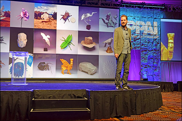 """In a high energy, high speed presentation, """"Better & Faster – The Proven Path To Unstoppable Ideas,"""" Jeremy Gutsche, founder of Trendhunter.com, led his audience toward blockbuster innovations during his general session."""