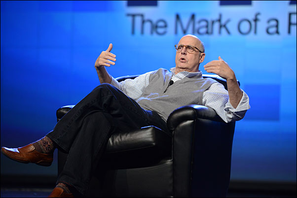 "Golden Globe winner and ""Arrested Development"" star Jeffrey Tambor spoke on embracing the value of discomfort during his keynote session at Expo."