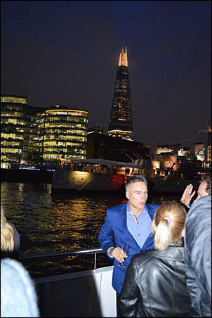 BPMA members enjoyed a night-time river cruise on the Thames in celebration of the association's 50th anniversary.