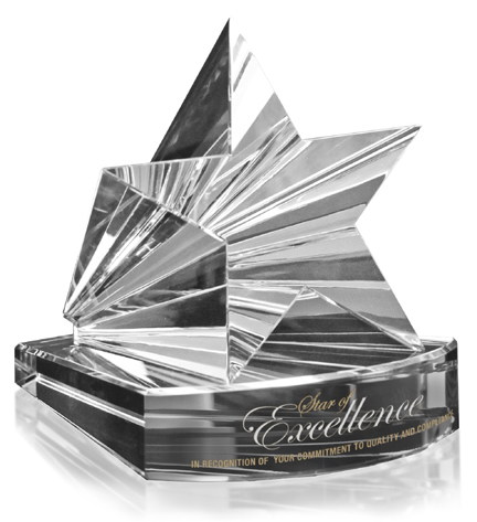 Crystal D star award web