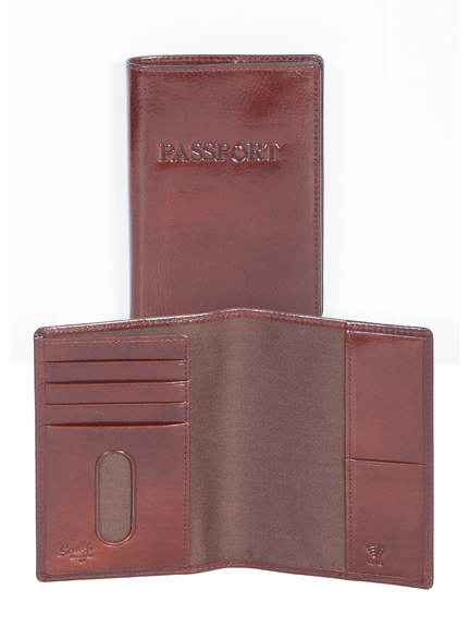 Scully passport wallet web