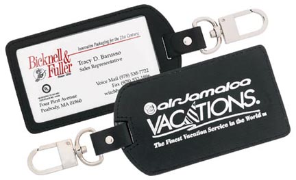 Strong Leather luggage tag web