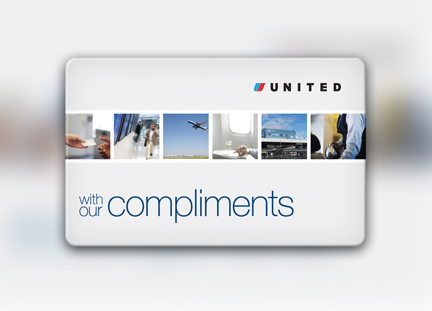 United Airlines Card web