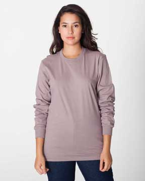 American Apparel long sleeve organic tee web