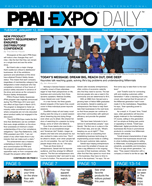 PPAI Expo Daily published on Tuesday, January 12, 2016