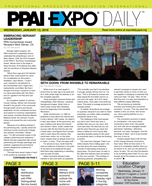 PPAI Expo Daily published on Wednesday, January 13, 2016