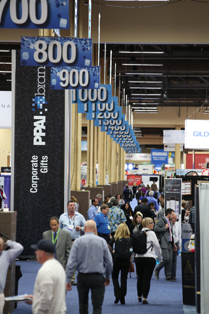The PPAI Expo is not only big business for the promotional products industry--the Las Vegas Convention and Visitors Authority estimates the overall non-gaming economic impact of the show on the city at about $19.4 million.