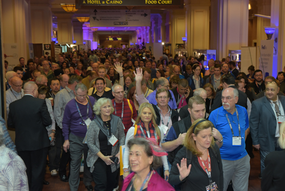 More than 11,000 distributors packed the Mandalay Bay Convention Center in Las Vegas in January for the promotional products industry's longest-running trade show.
