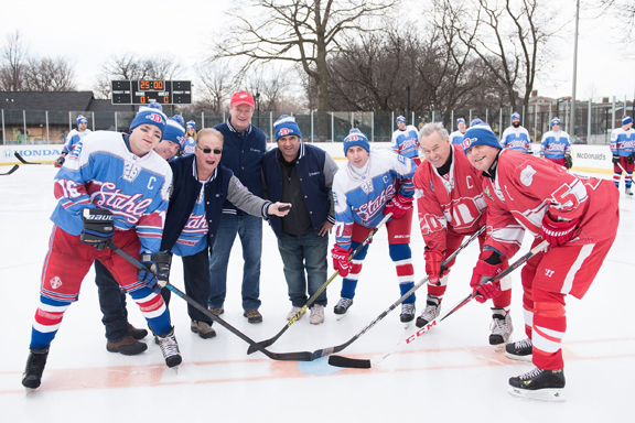 Stahls' Red Wings Charity Hockey Game web