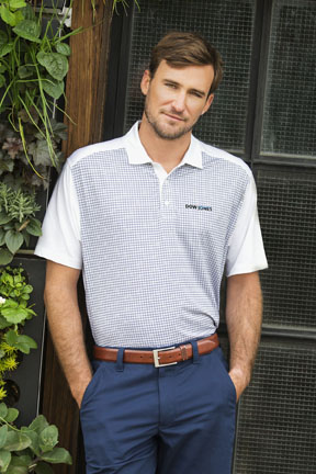 Vantage Apparel Polo web