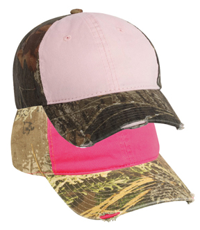 ladies' camo caps