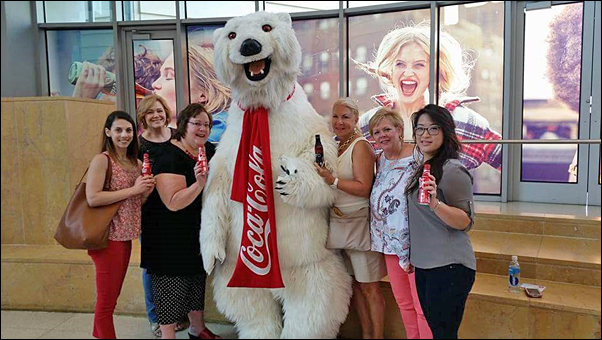 WLC attendees learned about the world-famous soft drink during a tour of the Coca-Cola Museum.