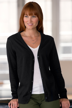 Women's Cardigan Sweater Vantage web