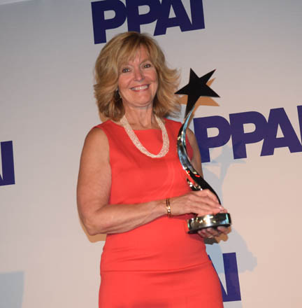Mary With Award web
