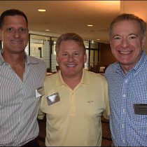 Craig Nadel, Jack Nadel International, Chris Vernon, MAS, The Vernon Company and Ira Neaman, Vantage Apparel
