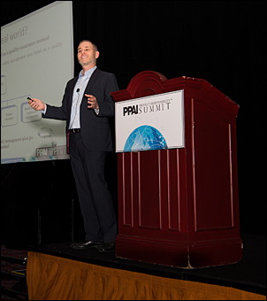 Speaker and attorney Neal Cohen shares his expertise at Summit.