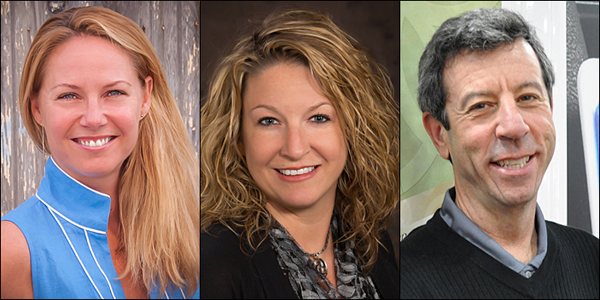 PPEF's incoming trustees include, from left, Anita Emoff, Dana Floyd and David Grobisen.