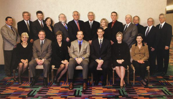 This is a group photo of the 2005 PPAI Board of Directors.
