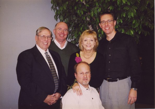 Margie Price, MAS, is joined by members of her 2009 board class: (from left) Stan Breckenridge, MAS; Darryl Haddox and Paul Miller, MAS, and RAC delegate Mark Fyten, MAS.