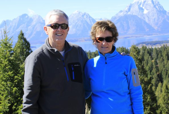 Wayne Roberts and his wife, Norma, enjoy retirement in the great outdoors.