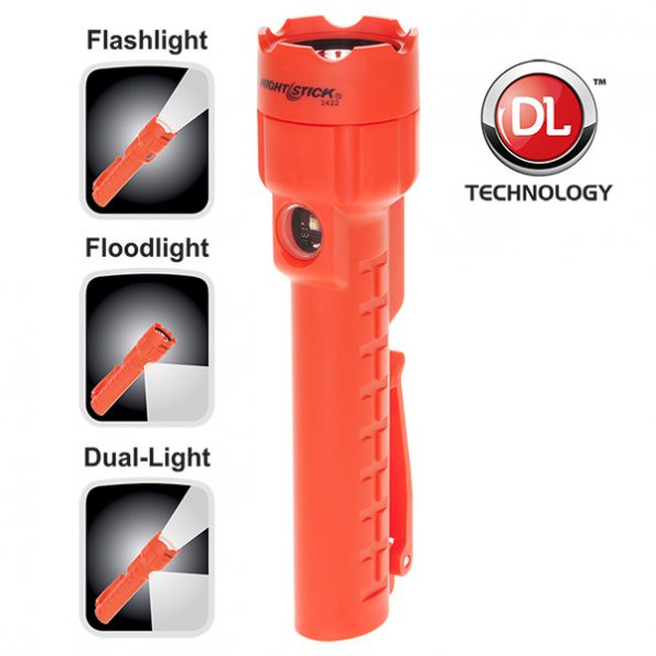 Dual-Light Flashlight