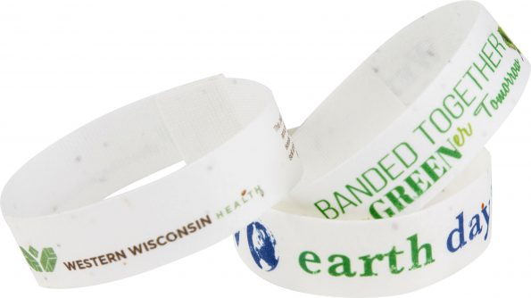 Seeded Paper Wristband