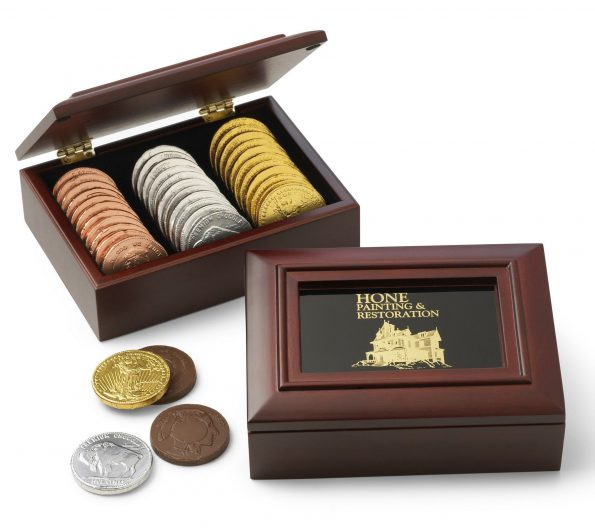 sweet nut tree coin box